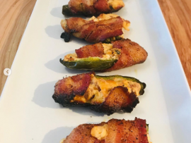 Bacon Wrapped Jalapeño Poppers 10